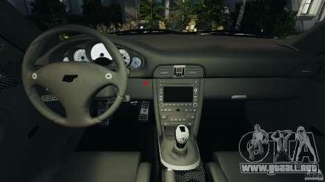 RUF RT12R 2011 para GTA 4 vista hacia atrás