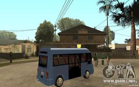Karsan J10 para la visión correcta GTA San Andreas