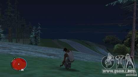 GTA IV HUD para una pantalla ancha (16:9) para GTA San Andreas tercera pantalla