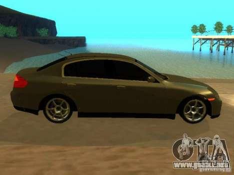 Nissan Skyline 300 GT para visión interna GTA San Andreas