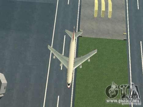 Boeing 747-100 para visión interna GTA San Andreas