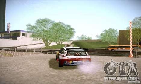 Citroen C4 WRC para la visión correcta GTA San Andreas