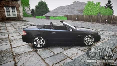 Mercedes Benz SL65 AMG para GTA 4 left
