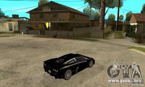 SSC Ultimate Aero Stock version para la visión correcta GTA San Andreas