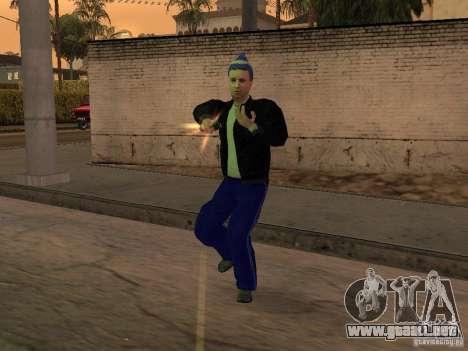 Gopnik pieles para GTA San Andreas sucesivamente de pantalla