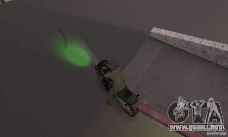Luces verdes para GTA San Andreas tercera pantalla