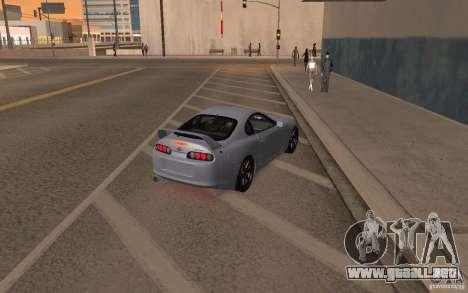 Toyota Supra Mark IV para GTA San Andreas left