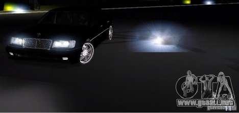 Electronic Speedometr para GTA San Andreas segunda pantalla
