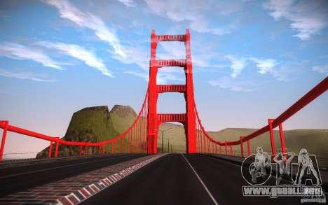 San Fierro Re-Textured para GTA San Andreas octavo de pantalla