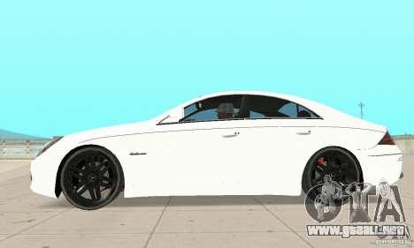 Mercedes-Benz CLS 63 AMG para GTA San Andreas left