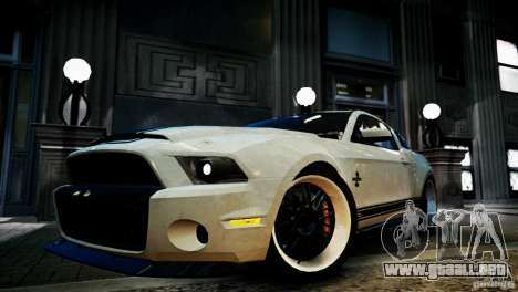 Shelby GT500 Super Snake NFS Edition para GTA 4