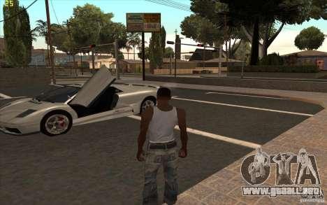 Infernus de GTA 4 para GTA San Andreas left
