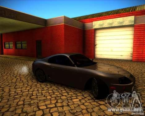Toyota Supra SHE para visión interna GTA San Andreas
