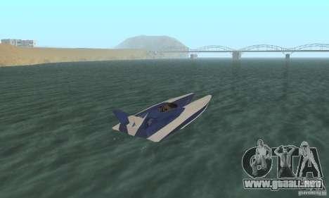 Powerboat para GTA San Andreas left