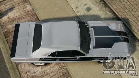 Dodge Challenger RT 1970 v2.0 para GTA 4 visión correcta