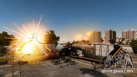 Un helicóptero con un RPG para GTA 4 left