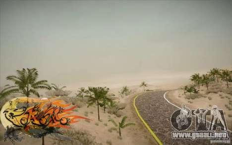 New Roads Las Venturas v1.0 para GTA San Andreas sucesivamente de pantalla