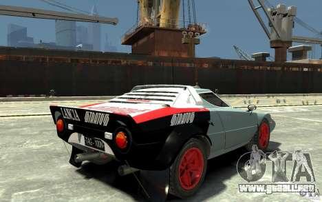 Lancia Stratos para GTA 4 visión correcta