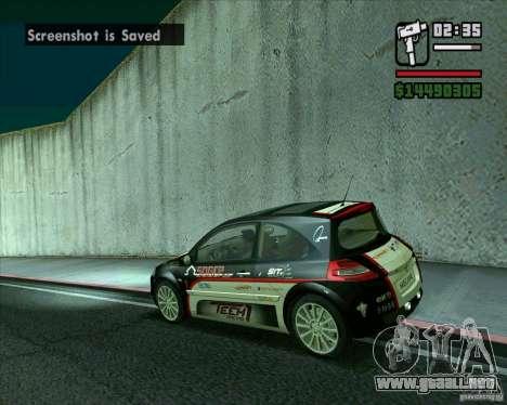 Renault Megane II RS para GTA San Andreas left