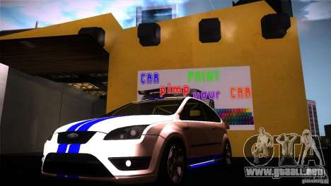 Ford Focus 2 Coupe para GTA San Andreas