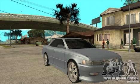TOYOTA MARK II GT para GTA San Andreas vista hacia atrás