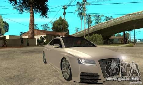 Audi S5 Quattro Tuning para GTA San Andreas vista hacia atrás