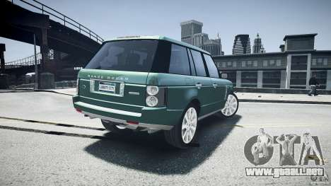 Range Rover Supercharged v1.0 para GTA 4 vista desde abajo