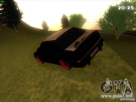 VAZ 2115 Devil Tuning para visión interna GTA San Andreas