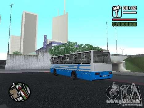 Ikarus 260 seguridad para la visión correcta GTA San Andreas