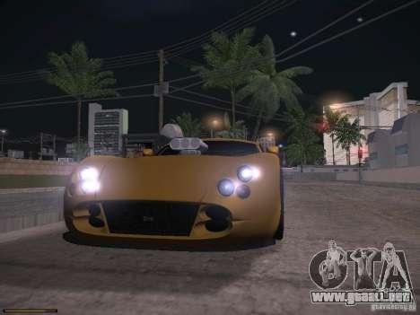 TVR Cerbera Speed 12 para la vista superior GTA San Andreas
