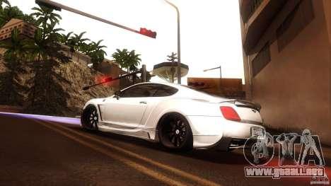 Bentley Continental GT Premier4509 2008 Final para la visión correcta GTA San Andreas