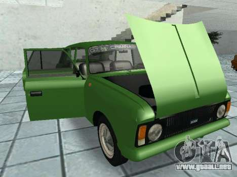 IZH Combi 21251 para visión interna GTA San Andreas