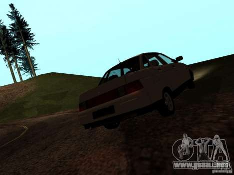 VAZ-21103 para GTA San Andreas left