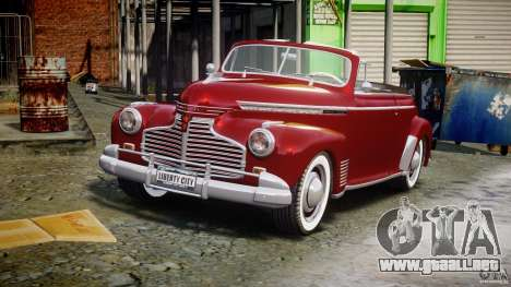 Chevrolet Special DeLuxe 1941 para GTA 4