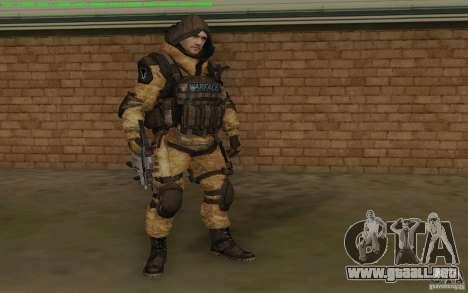 Francotirador Warface para GTA San Andreas