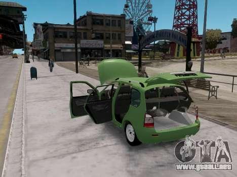 1117 LADA station wagon Viburnum para GTA 4 visión correcta