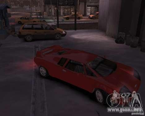 Infernus - Vice City para GTA 4 vista hacia atrás