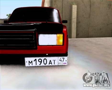 VAZ 2107 Gangsta para GTA San Andreas