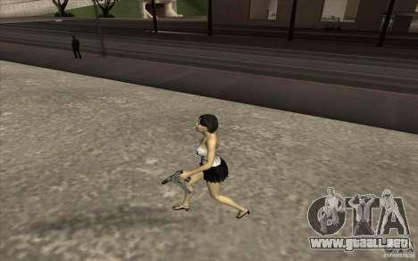 Kaileena big fan para GTA San Andreas sucesivamente de pantalla