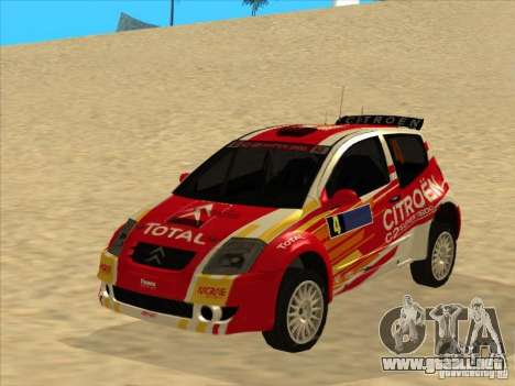Citroen Rally Car para GTA San Andreas