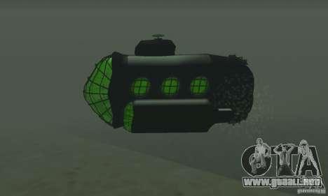 Submarino para la visión correcta GTA San Andreas