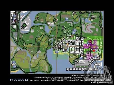 Asssassin Creed Style para GTA San Andreas sucesivamente de pantalla