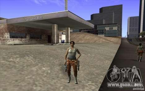 Chell from Portal 2 para GTA San Andreas