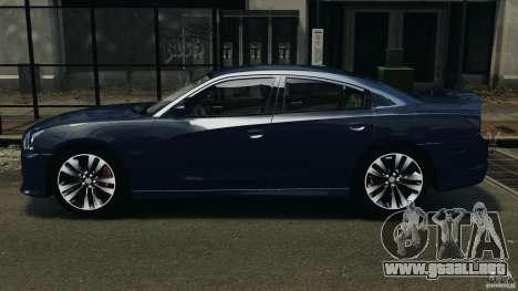 Dodge Charger SRT8 2012 v2.0 para GTA 4 left