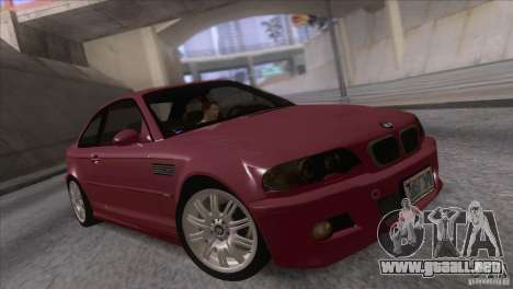 BMW M3 E48 para GTA San Andreas