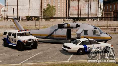 Estados Unidos Departamento de seguridad naciona para GTA 4