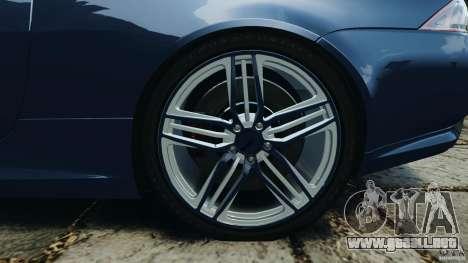 Jaguar XKR-S Trinity Edition 2012 v1.1 para GTA 4 vista superior