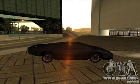 Dodge M4S Turbo Interceptor Wraith 1984 para GTA San Andreas left