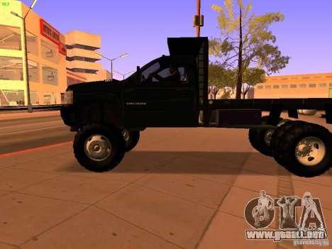 Chevrolet Silverado HD 3500 2012 para la vista superior GTA San Andreas