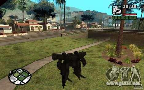 Exoesqueleto para GTA San Andreas